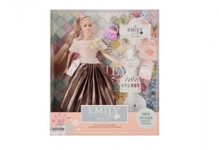 Кукла в бальном платье с аксессуарами JB0700860 Emily