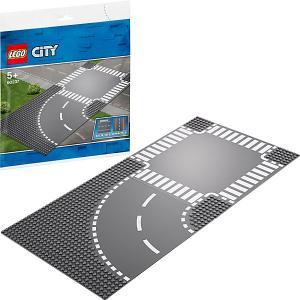 Конструктор  City Supplementary 60237: Поворот и перекрёсток LEGO