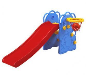 Горка  Слон с баскетбольным кольцом Edu-Play