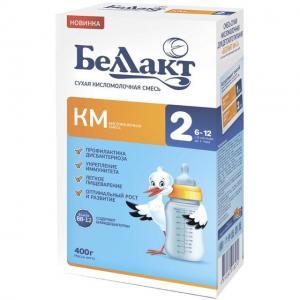 Молочная смесь  КМ-2 кисломолочная с 6 месяцев, 400 г Беллакт