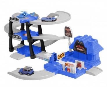 Паркинг 3-уровневый Полиция (30 деталей) BeBoy