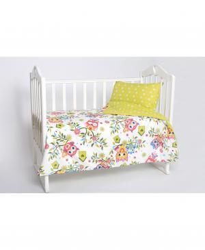 Постельное бельё в кроватку Совята Мой Ангелочек