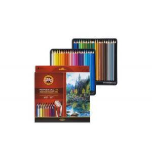 Акварельные карандаши  Mondeluz художественные 48 цветов Koh-I-Noor