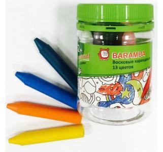 Набор восковых карандашей  треугольные 13 шт. Baramba