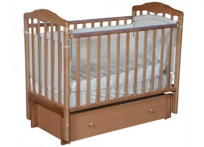 Детская кроватка  Helen 3 универсальный маятник ящик Кедр