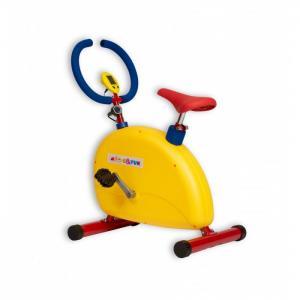 Тренажер детский механический Велотренажер большой с компьютером Moove&Fun