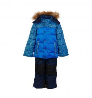 Комплект куртка/полукомбинезон  Савва, цвет: синий/голубой Oldos
