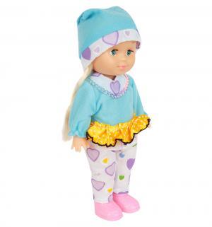 Кукла  в одежде, цвет: голубой 25 см S+S Toys
