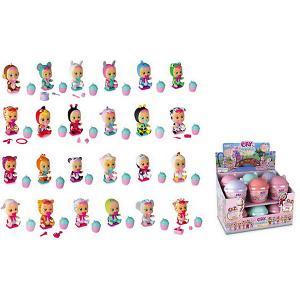 Плачущий мини-младенец  Cry Babies Magic Tears с домиком и аксессуарами, 12 шт. в ассортименте IMC Toys. Цвет: разноцветный