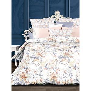 Комплект постельного белья  Орнелла, 5 предметов Романтика. Цвет: разноцветный