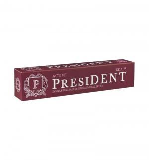 Зубная паста  Active при кровоточивости десен, 75 мл President