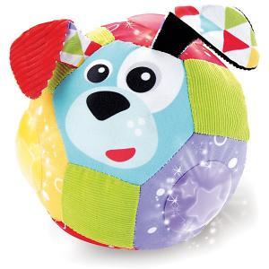 Музыкальный мяч  Мои друзья, с огоньками Yookidoo. Цвет: разноцветный