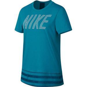 Футболка Nike. Цвет: разноцветный