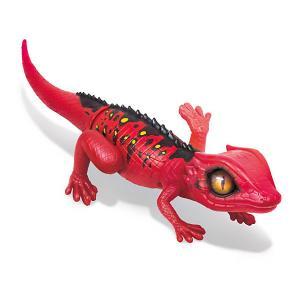 Интерактивная игрушка Zuru Робо-ящерица, красная (движение). Цвет: красный