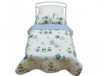 Плед  покрывало Orsetto Kids 170х110 с подушками Giovanni