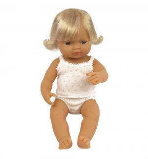 Кукла  Девочка европейка 38 см Miniland
