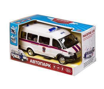 Микроавтобус инерционный Автопарк 1:29 В86597 Play Smart