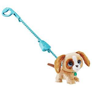 Мягкая игрушка FurReal Friends Большой питомец на поводке Собака Hasbro