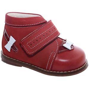 Ботинки Тотто. Цвет: красный/белый