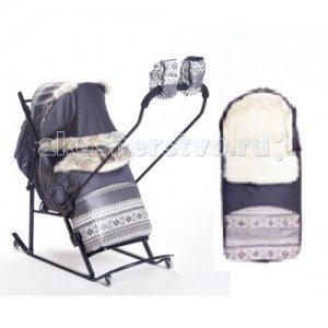Санки-коляска  Luxe Premium Extra Kristy