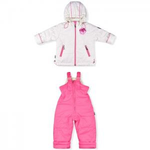 Комплект для девочки (куртка и полукомбинезон) 1079д Лео