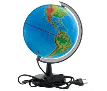Глобус физический с подсветкой 32 см Rotondo