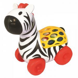 Каталка  развивающая игрушка Зебра Kiddieland