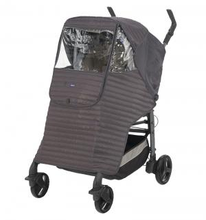 Накидка  на коляску, цвет: серый Chicco