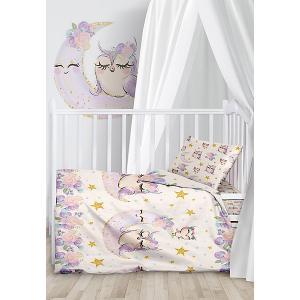 Комплект детского постельного белья  Owls Juno. Цвет: разноцветный