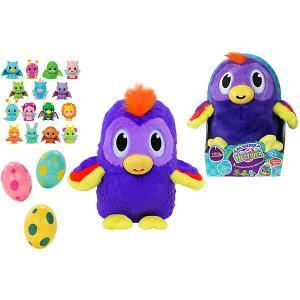 Игровой набор 1toy Дразнюка-Несушка Какадун, 3 яйца. Цвет: разноцветный