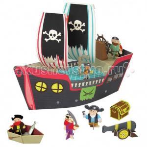 Игровой набор Пиратский корабль Купер Krooom