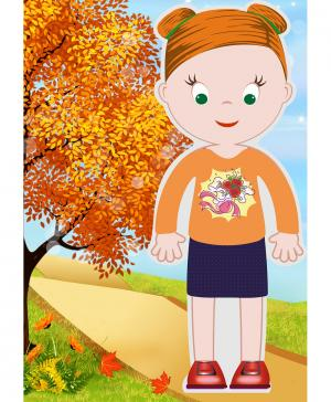 Магнитный набор Маленькие модники Мэгги Vitamins Baby