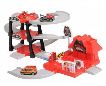 Паркинг 3-уровневый Пожарная станция (30 деталей) BeBoy