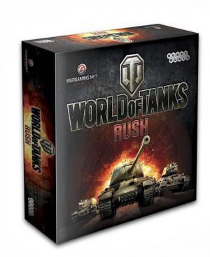 Настольная игра  World of Tanks Rush Hobby