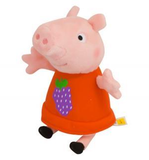 Мягкая игрушка  Пеппа в платье с виноградом 20 см Peppa Pig