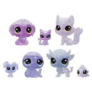 Игровой набор  Холодное царство 7 петов фиолетовый Littlest Pet Shop