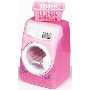 Стиральная машина  Toys, розовая Yako. Цвет: розовый/розовый