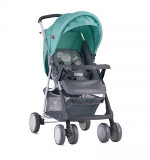 Прогулочная коляска  Terra, цвет: серый/зеленый Lorelli