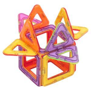 Магнитный конструктор  Магический магнит красно-фиолетовый Tongde