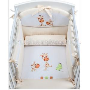 Комплект в кроватку  Pepe (3 предмета) аппликация Picci