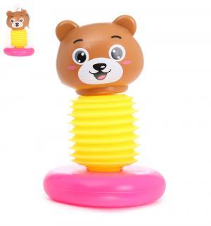 Игрушка-пищалка  Медвежонок S+S Toys
