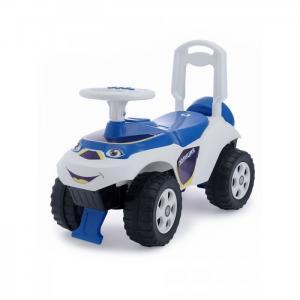 Каталка-игрушка  Автошка с музыкальным рулем Полиция Doloni