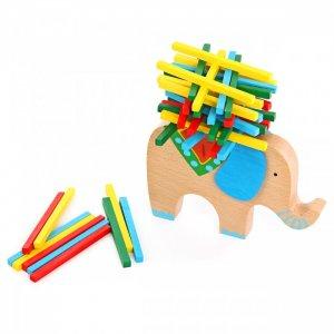 Деревянная игрушка  Баланс Слоник с поклажей Фабрика фантазий