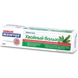 Зубная паста Новый Жемчуг Хвойный бальзам, 100 мл Невская косметика