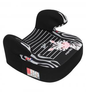 Автокресло-бустер  Dream Animals, цвет: чёрный/серые полосы/зебра Nania