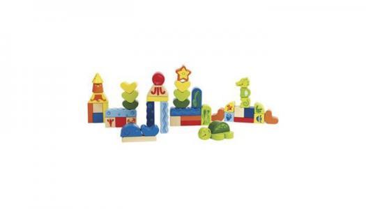 Деревянная игрушка  Конструктор Морские животные Е0432 Hape