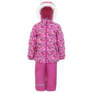 Комплект куртка/брюки  Hilla, цвет: розовый Kuutti