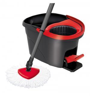 Набор для уборки  швабра + ведро с педальным отжимом Easy Wring Vileda