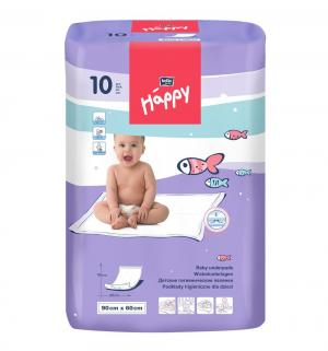 Пеленки  60х90 см, 10 шт Bella Baby Happy