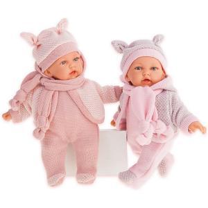 Кукла  Ромина в светло-розовом, озвученная, 27 см Munecas Antonio Juan. Цвет: розовый